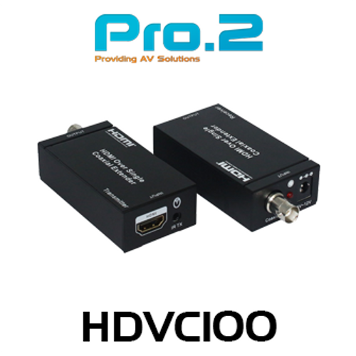 Pro.2 HDVC100 HDMI Over Coaxial Extender (100m)