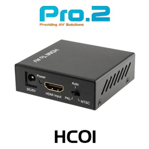 Pro.2 HC01 HDMI to Composite Converter
