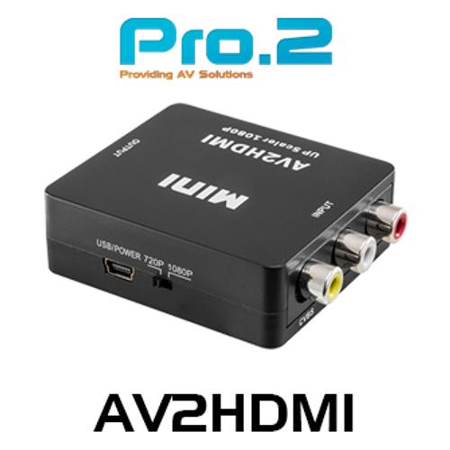 Pro.2 Composite To HDMI Converter