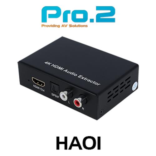 Pro.2 HA01 4K30 HDMI Audio De-Embedder