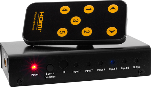 Pro.2 5-Way Compact HDMI Switcher