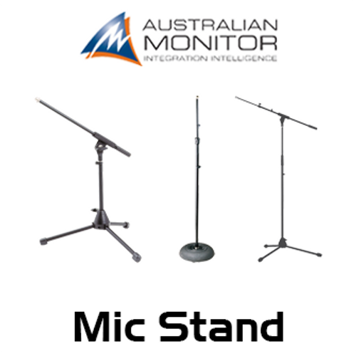 Australian Monitor ACTxxx 5/8 Thread Adjustable Telescopic Microphone Stands