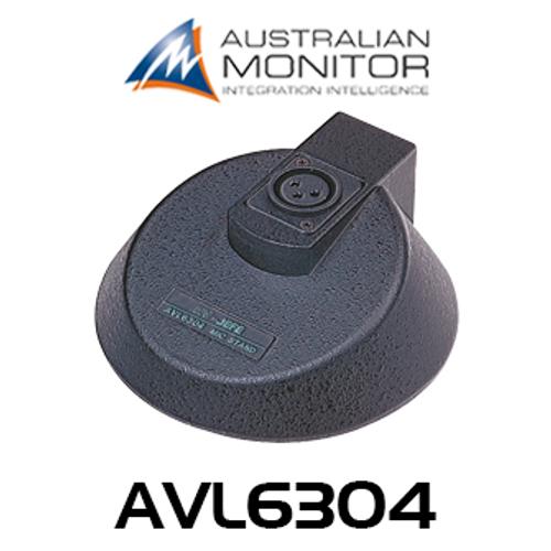 Australian Monitor AVL6304 Heavy Duty XLR Table Microphone Base