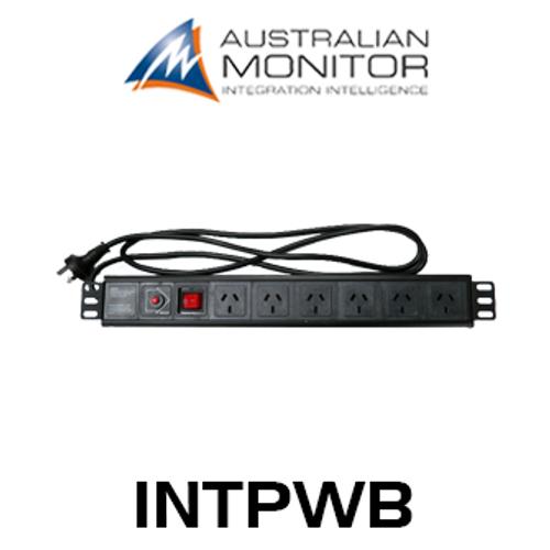 Australian Monitor INTPWB 6 Way 1RU Rack Mounted Powerboard