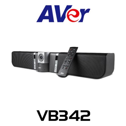 Aver VB342 4K UHD PTZ All-In-One USB Camera Soundbar