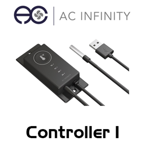 AC Infinity Single Zone Thermal Trigger Controller For Airplate, Multifan & USB Fans