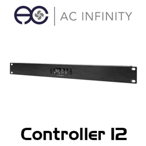 AC Infinity Controller 12 1RU Single Zone Intelligent Thermal Fan Controller
