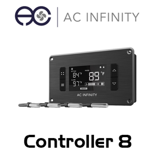 AC Infinity 4 Zone Intelligent Thermal Fan Controller