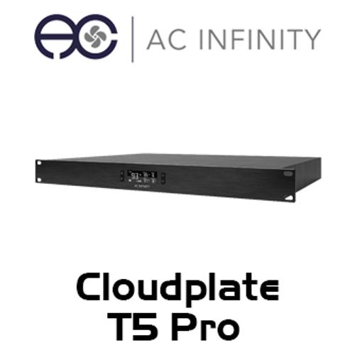 """AC Infinity Cloudplate T5 Pro 19"""" 1RU Rack Rear Exhaust Cooling Fan System"""