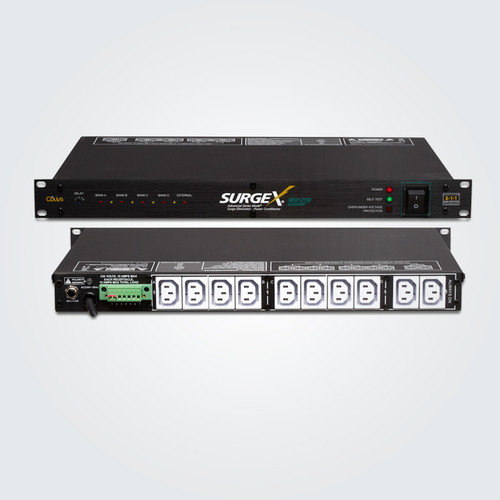 SurgeX Advanced SEQ1210i 1RU Rack Mount With Sequencing