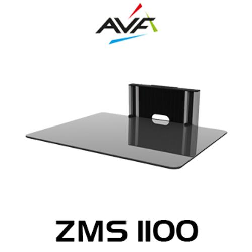AVF ZMS1100 1 Shelf Unimax Any Wall TV & AV Accessory Shelving