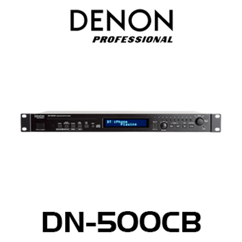 Denon Pro DN500CB CD Player with Bluetooth / USB / AUX Inputs