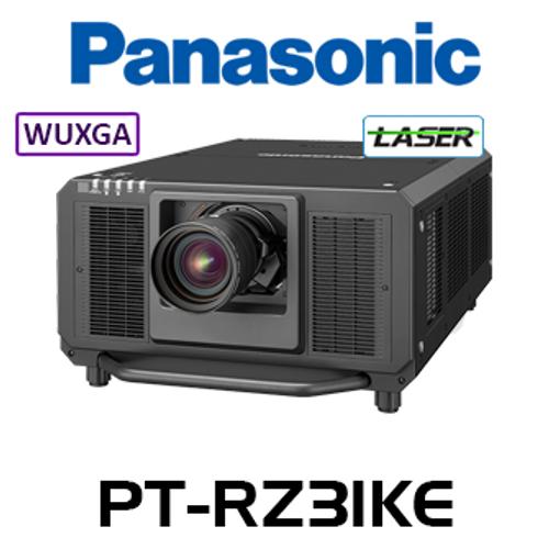 Panasonic PT-RZ31KE WUXGA 31,000 Lumen Digital Link 3-Chip DLP Laser Projector