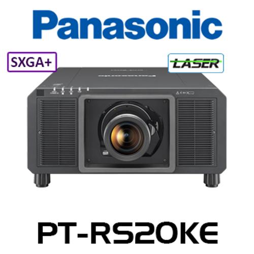 Panasonic PT-RS20KE SXGA+ 21,000 Lumen Digital Link 3-Chip DLP Laser Projector