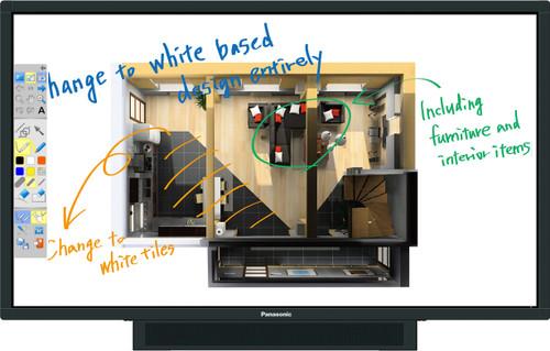 "Panasonic BFE1/BQE1 65"" / 75"" Interactive Multi-Touch Display"