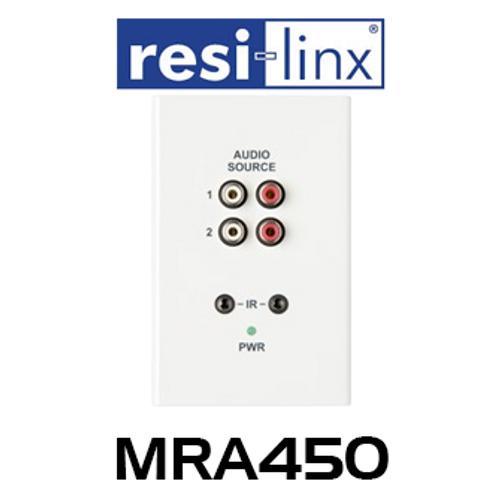 Resi-Linx MRA Remote Zone Input Wallplate