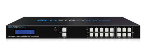 BluStream 4x4 4K UHD HDMI 2.0 HDBaseT CSC Matrix Kit