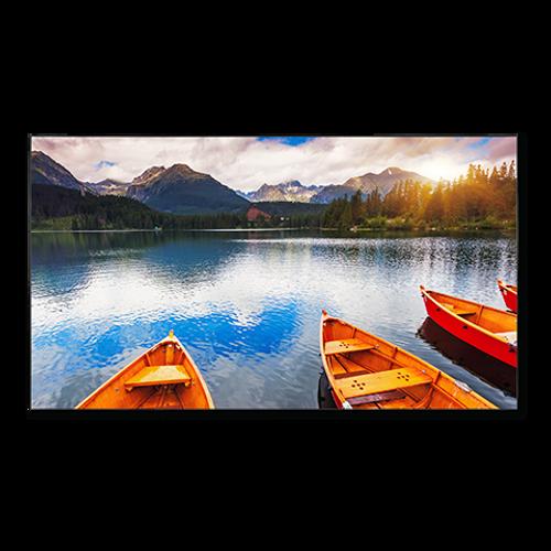 "NEC X555UNV 55"" Full HD Ultra Narrow Video Wall Signage LCD Display"
