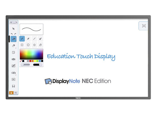 "NEC E651-T 65"" Full HD 10-Point Infrared Multi-Touch LCD Display"