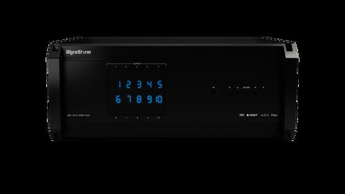 WyreStorm 10x10 4K HDR 18Gbps Modular Matrix Switcher Chassis (70m)