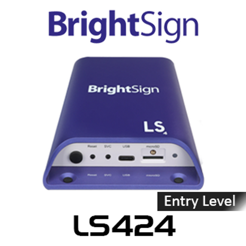 BrightSign LS424 Entry-Level Full HD H.265 Digital Signage Media Player