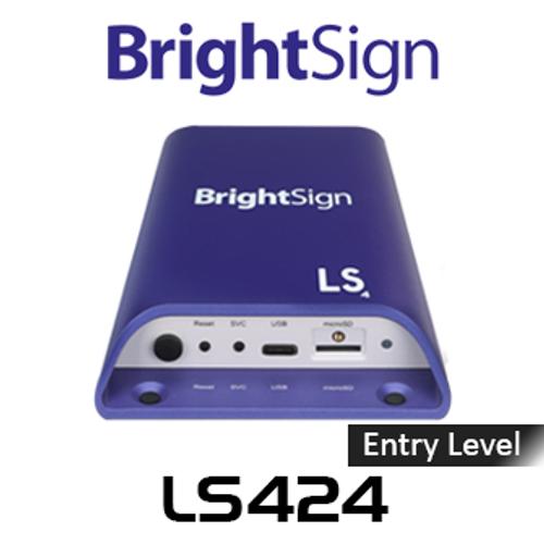 BrightSign LS424 Entry-Level Full HD H.265 Digital Signage Media Player