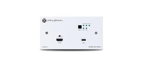 Atlona Omega Dual HDMI & USB-C HDBaseT Wallplate Switcher