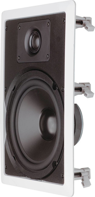 "Opus One 8"" 40W Rect In-Wall Ceiling Speakers (Pair)"