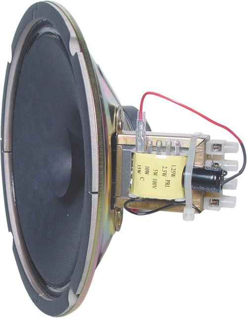 "Redback 8"" 15W 100V High Output Twin Cone EWIS PA Speaker Driver (Each)"
