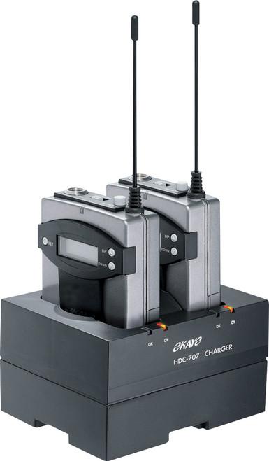 Okayo 2 Way AA Batteries Charging Dock