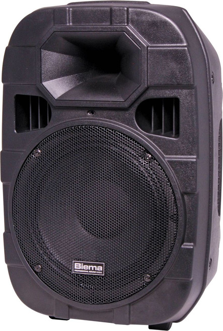 "Biema 10"" 250W High Power 2 Way Active PA Speaker (Each)"