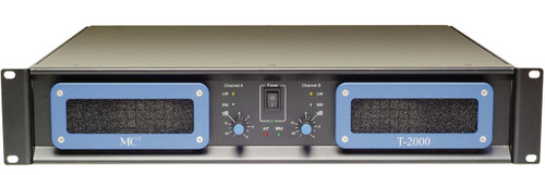 MC2 T2000 2-Channel 625W 8 ohm Installation Amplifier