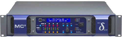 MC2 Delta DSP80 4-Ch 1000W 8 ohm Network Power Amplifier with DSP