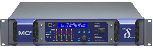 MC2 Delta DSP100 4-Ch 1400W 8 ohm Network Power Amplifier with DSP