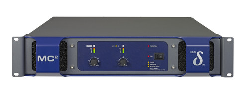 MC2 Delta 120 2-Ch 2400W 8 ohm Network Power Amplifier