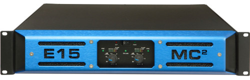MC2 E15 2-Ch 450W 8 ohm High Power Touring Amplifier