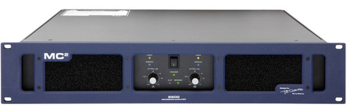 MC2 S800 2-Ch 475W 8 ohm Premium Studio Monitoring Amplifier