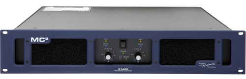 MC2 S1400 2-Ch 775W 8 ohm Premium Studio Monitoring Amplifier