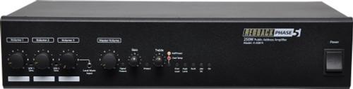 Redback 4 Channel 125/250W Public Address Amplifier
