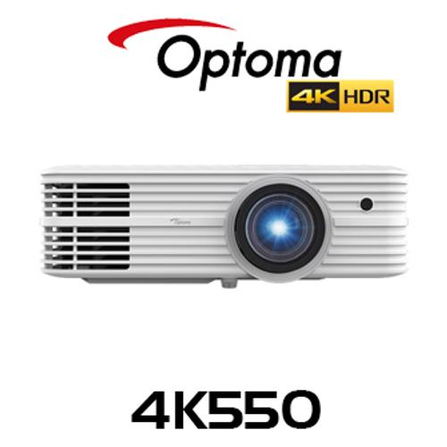 Optoma 4K550 4K UHD 5000 Lumen HDR 3D Professional DLP Projector