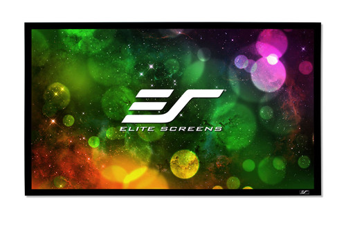 "Elite Screens SableFrame B2 16:9 4K Fixed Frame Projection Screens (92"" - 150"")"