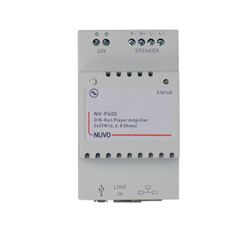 NuVo P600 Din Rail Zone Player