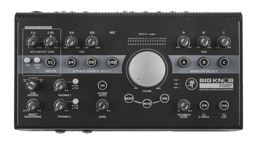 Mackie Big Knob Studio Plus 4x3 Monitor Controller