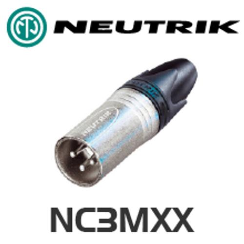 Neutrik XX Series 3 pin XLR Line Connector - Male