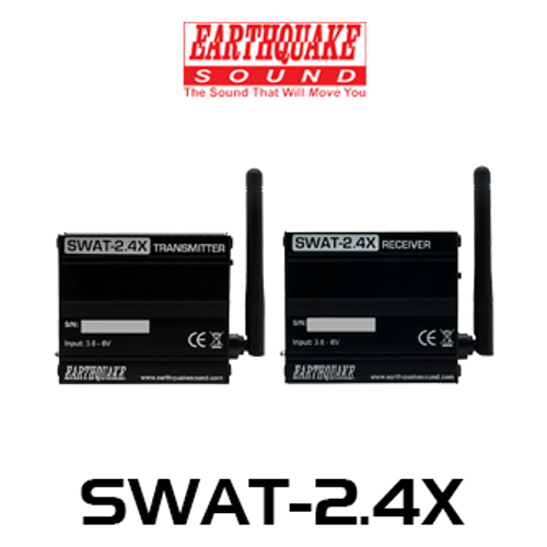 EarthQuake SWAT-2.4X Wireless Audio Transceiver with High Level Input