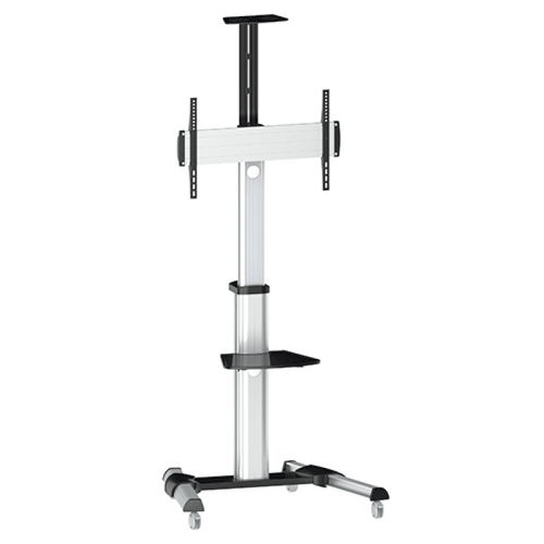 """Quantum Sphere TTV0446TW 35""""-55"""" Height Adjustable Video Conferencing Cart / Trolley"""