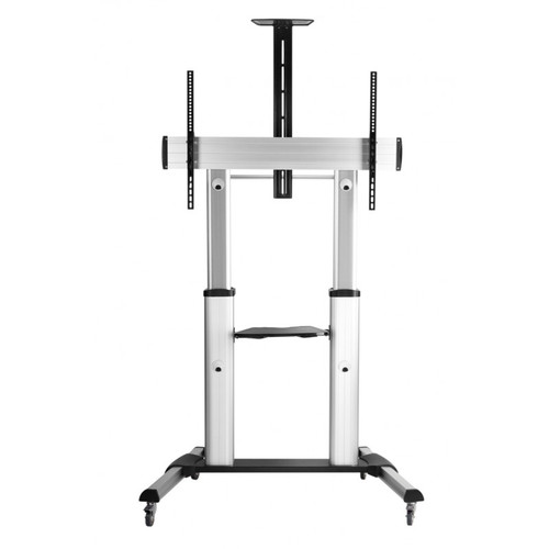 """Quantum Sphere TTL04610TW 60""""-100"""" Height Adjustable Video Conferencing Cart / Trolley"""
