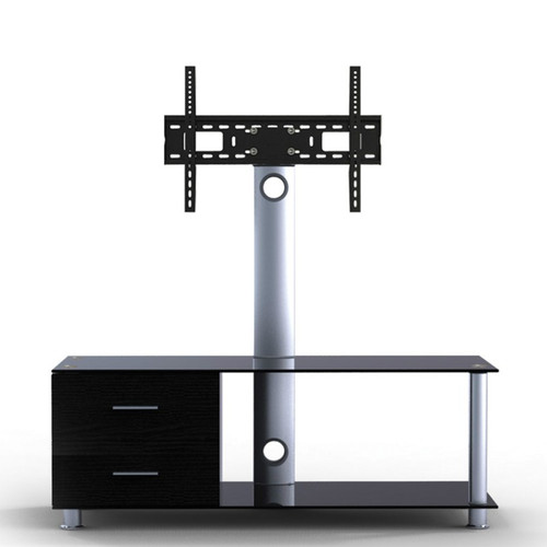"Quantum Sphere LK3 Two Shelfs Entertainment Unit Integrated with 37""-55"" LCD TV Mount"