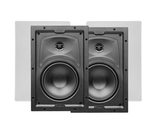 "Episode 350 Series 8"" Thin Bezel In-Wall Speakers (Pair)"