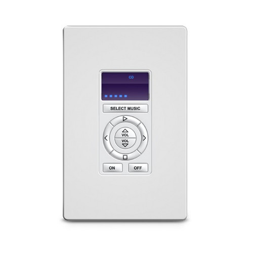 RTI RKM-1+ Multiroom Audio Keypad with LED Display